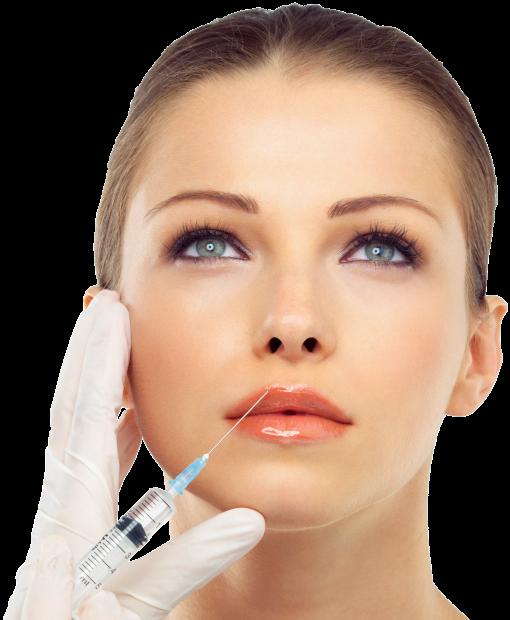 Botox facial treatment